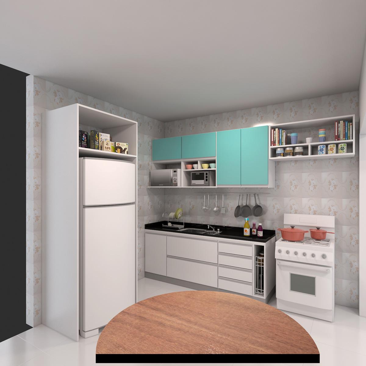 Cozinha Com Ilha Gourmet Marcena M Veis Sob Medida