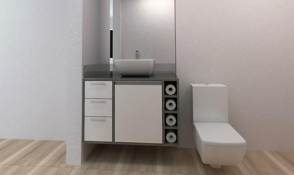 Gabinete de Banheiro