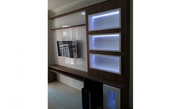 Estante Sala com LED