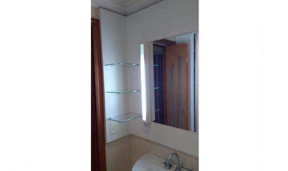 Painel Espelho + Armário