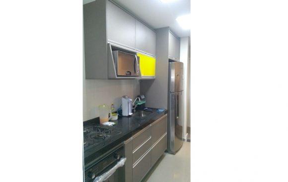 Cozinha Cinza Toque Yellow