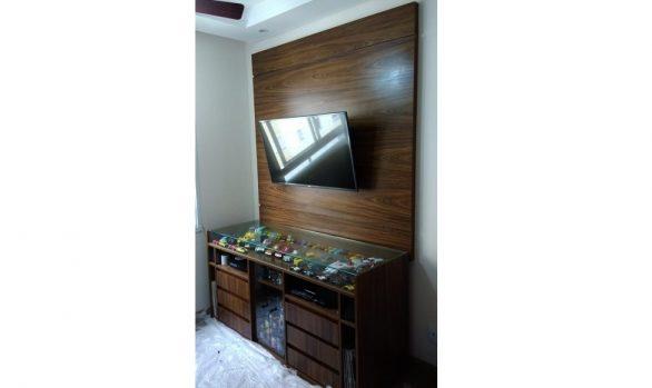 Painel Tv Rack Carrinhos