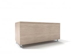 Banco Bau de madeira feito sob medida em marcenaria online