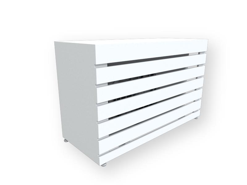 Caixa Ar Condicionado - Branco