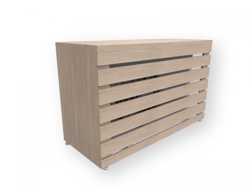 Caixa para Embutir Condensadora de Ar Condicionado na Varanda