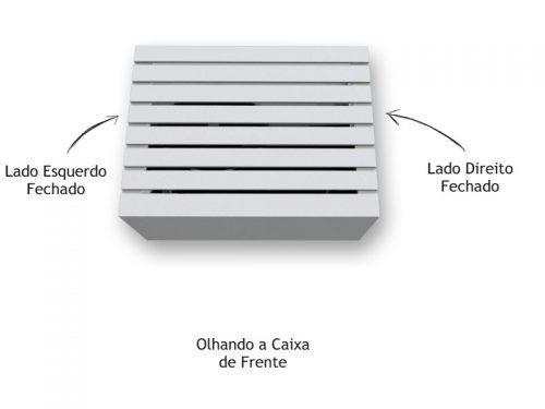 Caixa de Ar Condicionado Suspensa Branca - Marcena