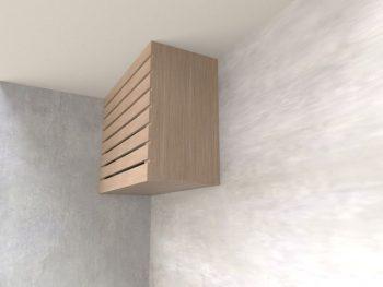 Caixa de Ar Condicionado Suspensa Cumaru Trend - Marcena