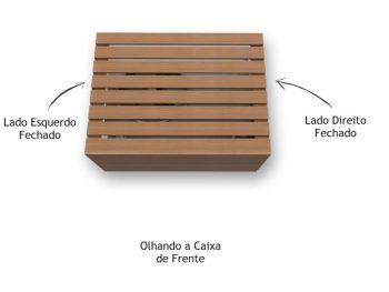 Caixa de Ar Condicionado Suspensa Louro Freijó - Marcena