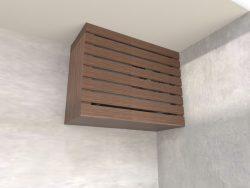 Caixa de Ar Condicionado Suspensa Pau Ferro - Marcena
