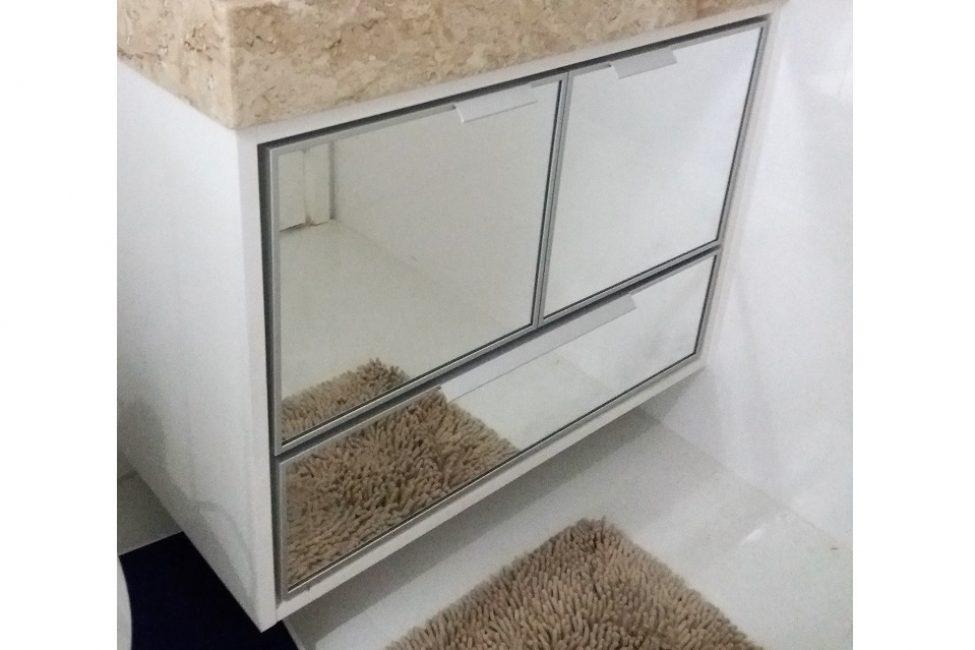 07 - Gabiente banheiro sob medida espelhado