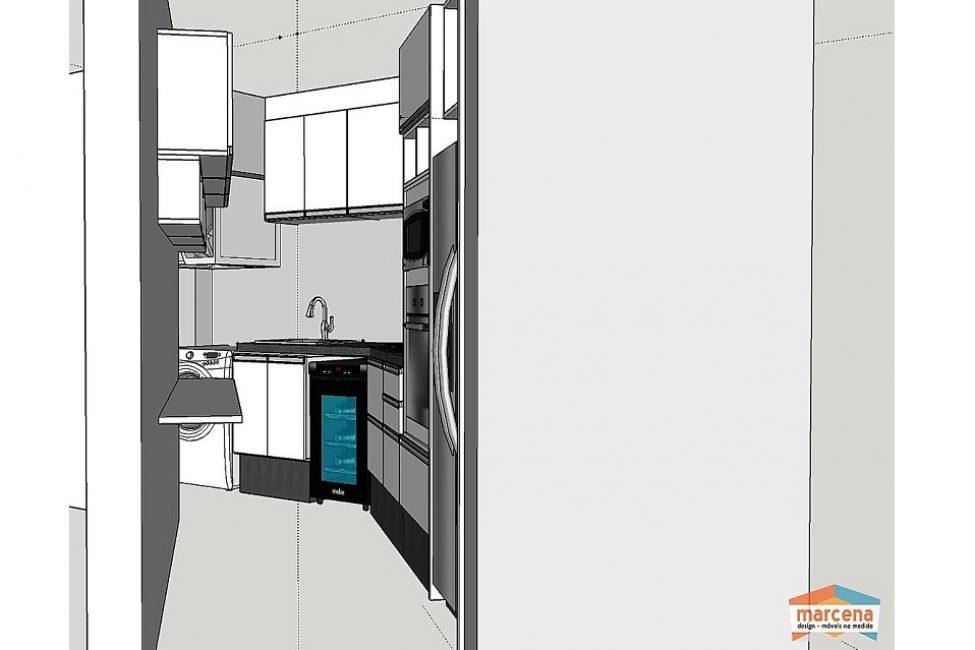 10 - Projeto de cozinha planejada 03