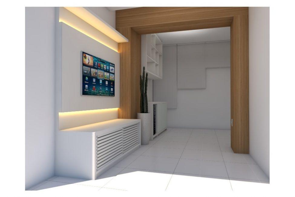 Sala e Varanda sob Medida 3D 01