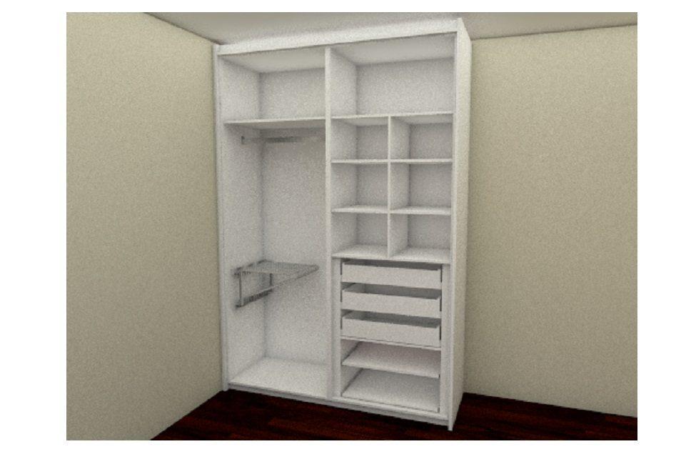 armários de quarto planejado 01